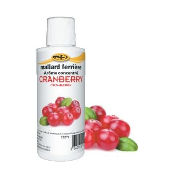 Arômes concentrés : Cranberry - 125 ml