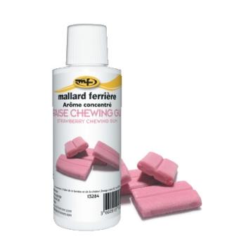 Arômes concentrés : Fraise Chewing Gum - 125 ml