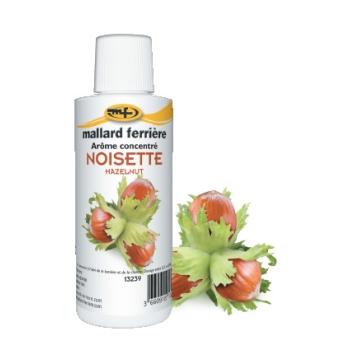Arômes concentrés : Noisette - 125 ml