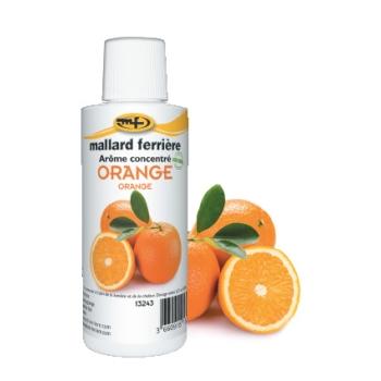 Arômes concentrés : Orange - 125 ml