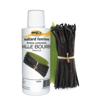 Arômes concentrés : Vanille Bourbon  - 125 ml