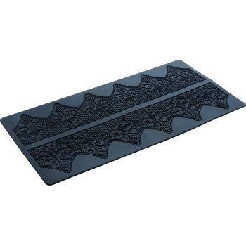 Plaque silicone 40 x 20 cm : Dentelle 2 - Ht 85 mm