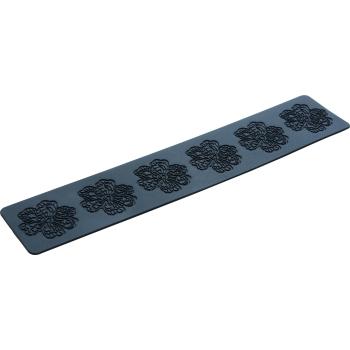 Plaque silicone 40 x 8 cm : Fleur - diamètre 60 mm