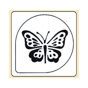 Pochoir plastique papillon