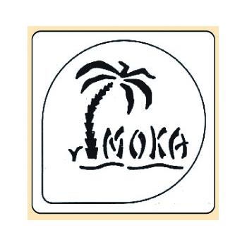 Pochoir plastique Moka