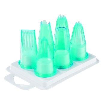 Assortiment Patissier 6 douilles polycarbonate