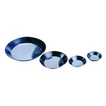 Tartelette ronde unie inox