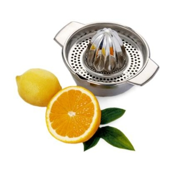 Presse-citrons inox 2 pièces