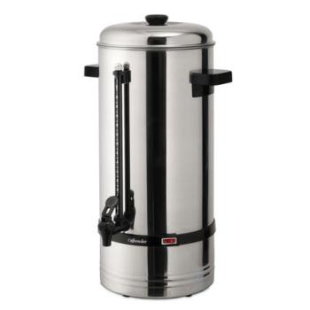 Cafetière acier inox - modèle 10 litres