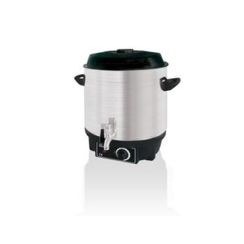 Chauffe-eau inox 20 litres + robinet