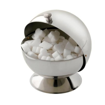 Boule à sucre inox