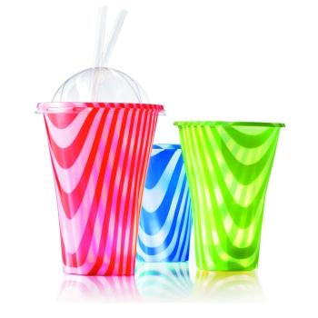 Pot à Milk-shake - Granité - 50 Unités