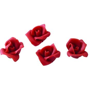 Roses rouges pâte d'amande
