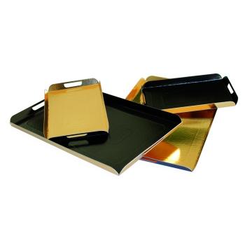 Plateau plié en carton double face 750g/m2 - 25 unités