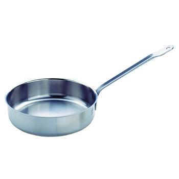 Plat à sauter à queue casserole basse