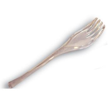 Mini fourchette pour mise en bouche plastique