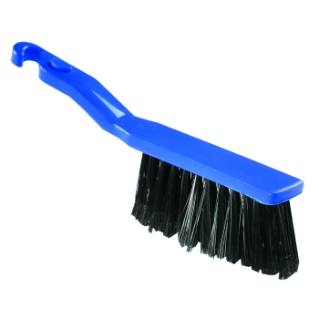Balayette nylon bleue - 28 cm