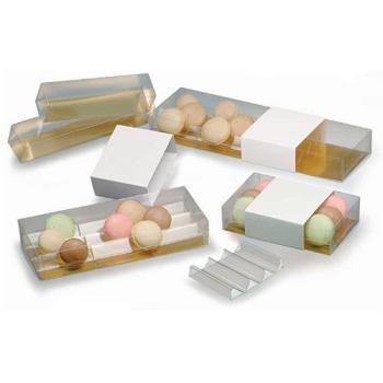 Boîte à macarons PVC