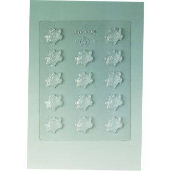 Plaque Divers - 14 tortues