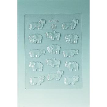 Plaque Divers - 14 animaux
