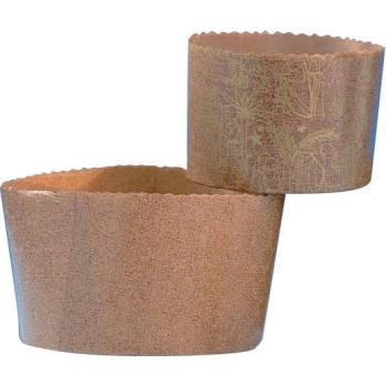 Moules Papier Panettone - 200 unités