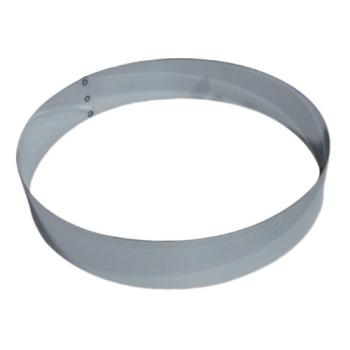 """Cercle inox """"Mousse"""" hauteur 4.5 cm"""