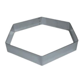 Hexagone inox pour Entremet