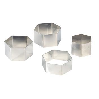 Nonnettes hexagonales inox