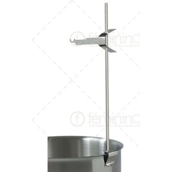Support Fouet inox