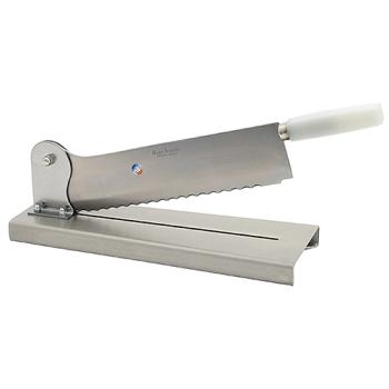 Couteau sur socle  inox - 35 cm