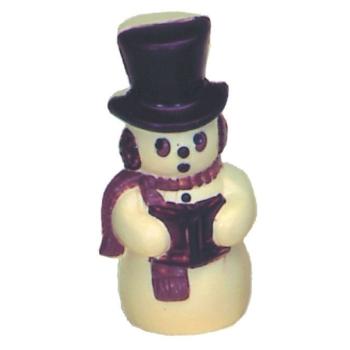 Moule polycarbonate pour chocolat 14 - Bonhomme de neige Noël