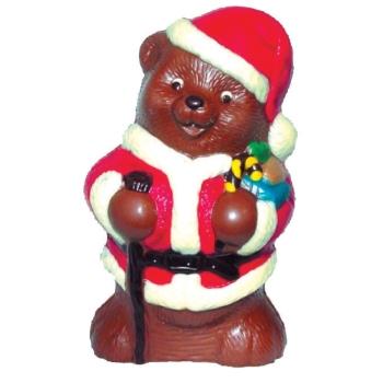 Moule polycarbonate pour chocolat 20 - Ourson de Noël