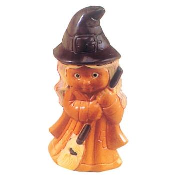 Moule polycarbonate pour chocolat 24 - Sorcière Halloween