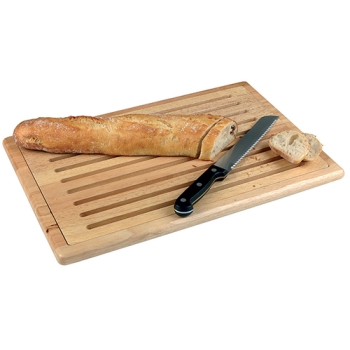 Planche Bois pour la découpe du pain 47,5 x 32 cm (vendu sans couteau)