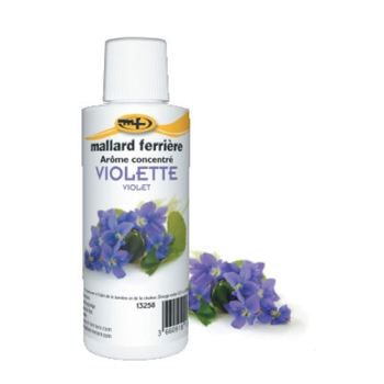 Arômes concentrés : Violette - 125 ml