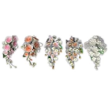Bouquet à l'unité Pastillage