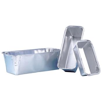 Moule cake aluminium- 100 unités