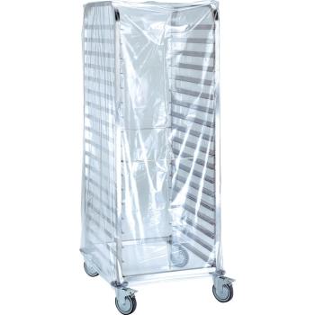 Housse de protection jetable polyéthylène - 60 microns - 40 unités