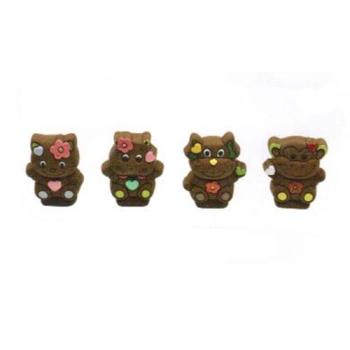 Moule polycarbonate 153 - Chat - Chien - Singe - Hippopotame.