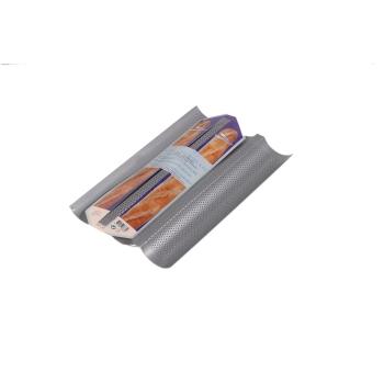 Plaque perforée pour baguette et tuile