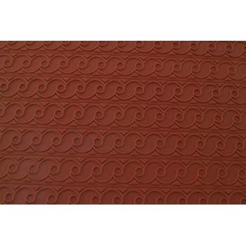Tapis relief silicone frise
