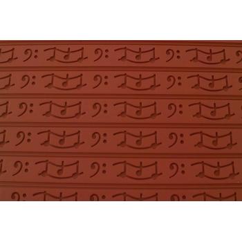 Tapis relief silicone musique
