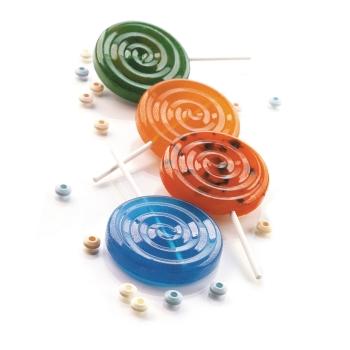 """Moules sucettes en silicone """"Lollipop"""""""