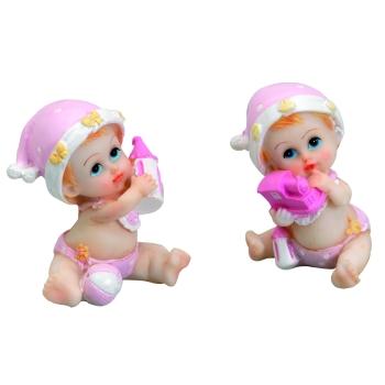 Bébé bonnet rose