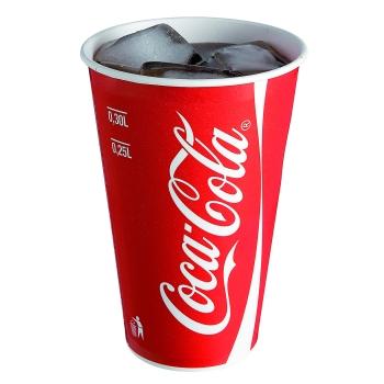Gobelets coca cola