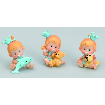 Bébé jouet bleu