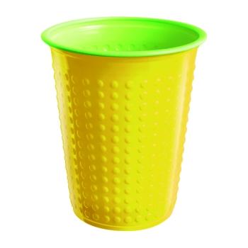 Coffret vaisselle vert/jaune