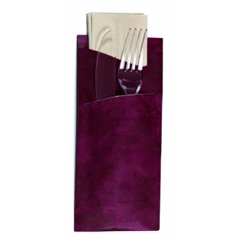 Pochette couverts libra avec serviette