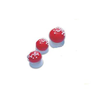 Sujets sucre - Champignons sucre Rouge grand modèle