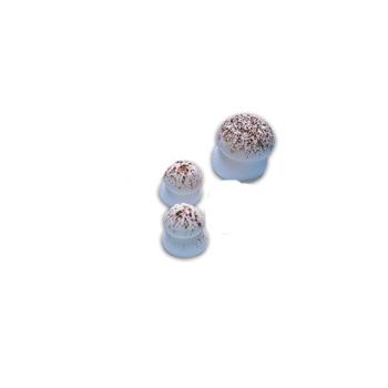 Sujets sucre - Champignons sucre Beige grand modèle
